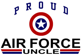 Proud Air Force Uncle t-shirts