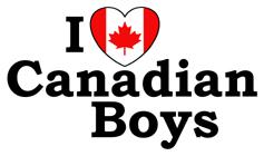 I love Canadian Boys t-shirts