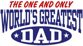 World's Greatest Dad t-shirt