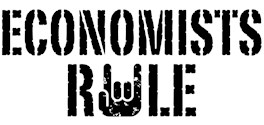 Economists Rule t-shirts