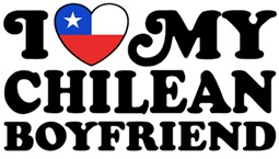 I Love My Chilean Boyfriend t-shirts
