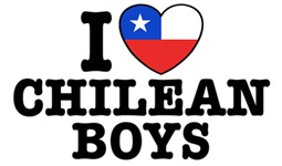 I Love Chilean Boys t-shirts
