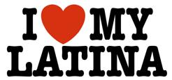 I love My Latina t-shirt