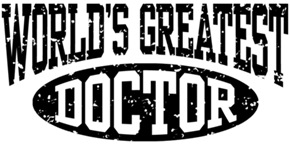 World's Greatest Doctor t-shirts