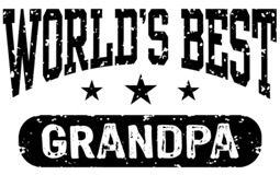 World's Best Grandpa t-shirts