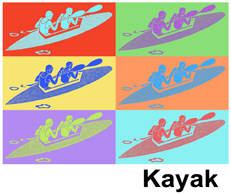 Kayak t-shirt