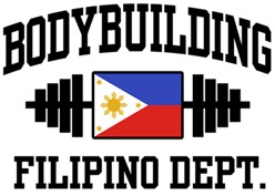Filipino Bodybuilder t-shirts