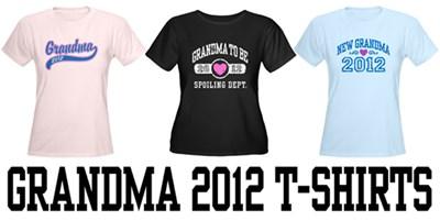 Grandma 2012 t-shirts