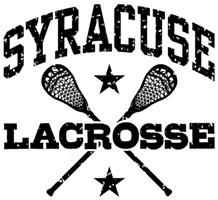 Syracuse Lacrosse t-shirts