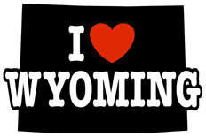 I Love Wyoming t-shirt