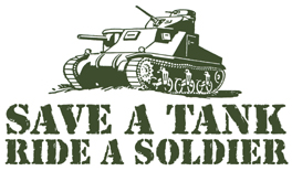 Save a Tank, Ride a Soldier t-shirt
