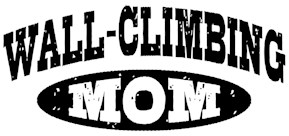Wall Climbing Mom t-shirts