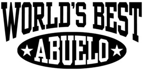 World's Best Abuelo t-shirts