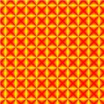 Yellow Red Diamonds
