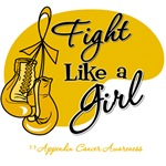 Fight Like a Girl Appendix Cancer Shirts and Gifts