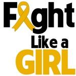 Fight Like a Girl Ribbon Shirts