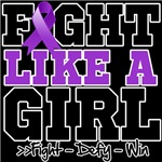 Leiomyosarcoma Sporty Fight Like a Girl Shirts