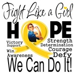 Fight We Can Do It Childhood Cancer Shirts