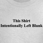This Shirt Left Blank