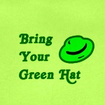 Bring your green hat