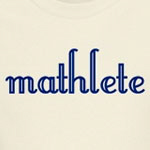 You are a mathlete.  Be proud.  Let them know that you don't need a calculator and that you play with imaginary numbers.   Be a math geek.