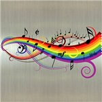 Mixed Musical Notes (color2)