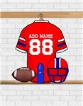 Personalized Football Grid Iron jersey