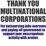 Thank You Multinational Corporations