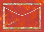Red Envelope Tradition Notecards