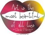 Art, a Beautiful Lie
