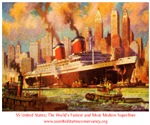 SS United States in New York Harbor