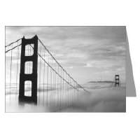 San Francisco Classic Black + White Greeting Cards
