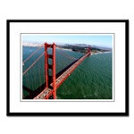 sf gifts! framed golden gate bridge photographs