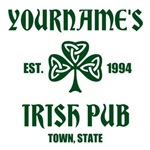 Personalized Irish Pub
