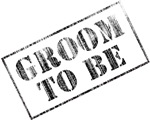 Groom To Be Stamp