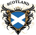 Scottish Flag T-shirts & Gifts