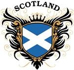 Scottish Flag T-shirts & Gifts