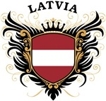 Latvian Flag T-shirts & Gifts