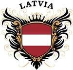 Latvian Flag T-shirts & Gifts
