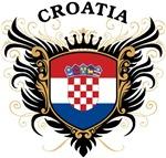 Croatian Flag T-shirts & Gifts