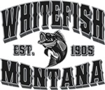 Whitefish Black & Silver