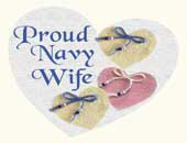 Proud Navy Wife > Trendy T-Shirts & Gifts