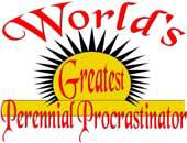 Procrastinator > Gifts & Apparel