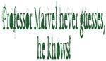 Professor Marvel Knows