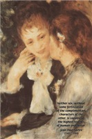 Renoir Impressionist Painter: Male Female Equality