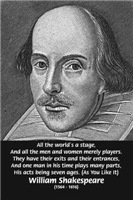William Shakespeare: All the Worlds a stage