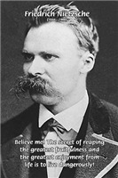 Philosopher Nietzsche: Joy of a Dangerous Life