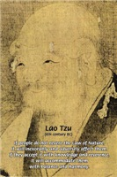 Tao Te Ching: The Law of Nature Lao Tzu