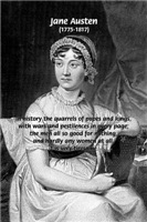 Writer Jane Austen on Role of Women in History