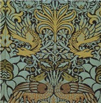 Peacock and Dragon by Morris